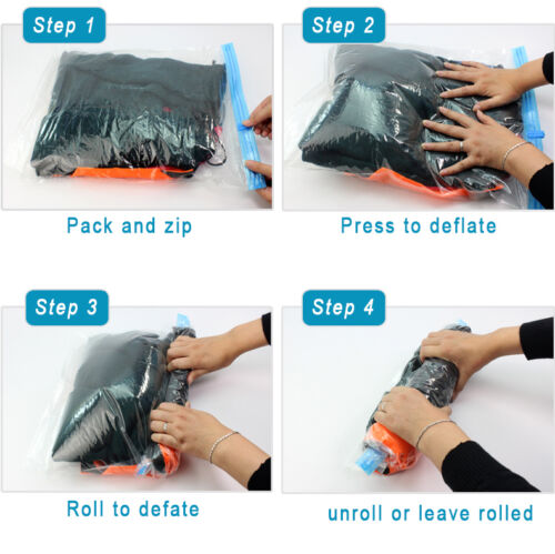 Reusable-Roll-Up-Compression-Space-Saving-Travel-Vacuum-Seal-Zip-Lock-Bags-New