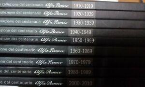 Quattroruote-BOOK-La-collezione-del-centenario-Alfa-Romeo-VOLUMI-SINGOLI