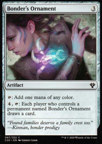 2x Bonder/'s OrnamentNM//MCommander 2020 IkoriaMagic MTG