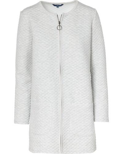 Damen Tailor Tom Grau Cardigan Jacke Long Blazer Structured 15xqaTw