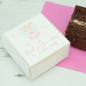Cool 10 Personalised Fairy Childrens Birthday Cake Boxes Ebay Funny Birthday Cards Online Inifofree Goldxyz