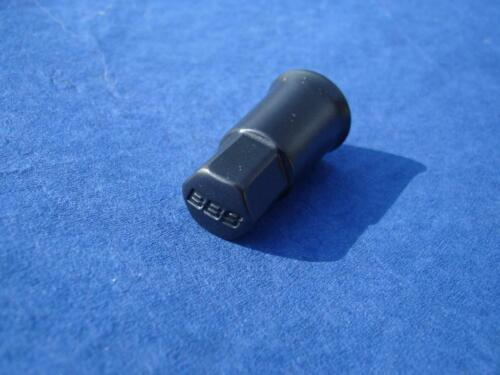 4x BBS válvula tapas aluminio negro cromado 09.15.063 para válvulas de goma Speedline
