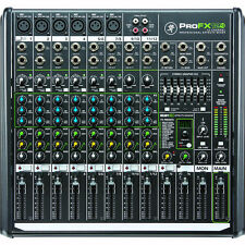Mackie ProFX12v2 12-Channel Professional Live Studio Audio Mixer w/ FX + USB