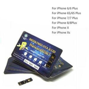 RSIM Heicard CHIP IPHONE SPRINT ATT TMOBILE XFINITY XS 8+ IOS13.5 6 X 7 H Sale