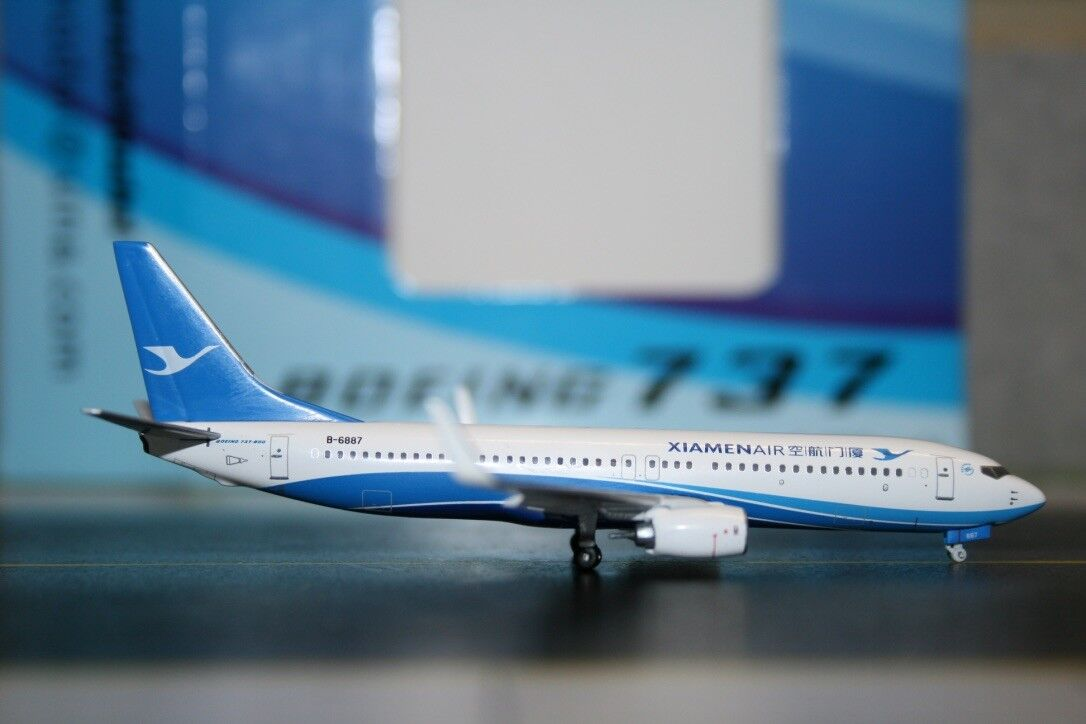 Panda Model Skywings 1 400 Xiamen Airlines Boeing 737-800 B-6887 (SKY-PM-016)