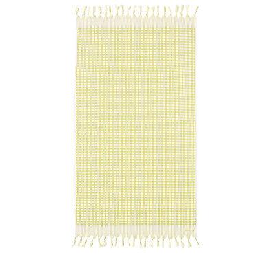 NEW Sheridan Wategos Beach Towel in Citron Yellow