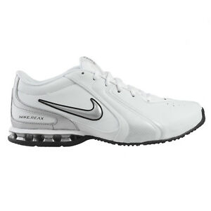 well known online for sale promo codes Details about Nike Reax TR III SL Mens 333765-101 White Silver Cross  Training Shoes Size 8