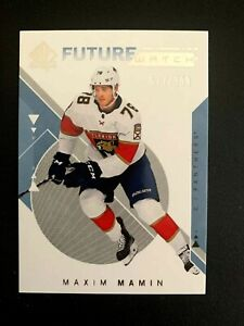 2018-19 SP Authentic #152 Maxim Mamin FW RC /999
