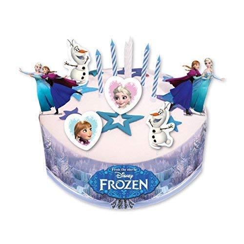 Amscan 19 Disney Frozen Cake Decorating Sets