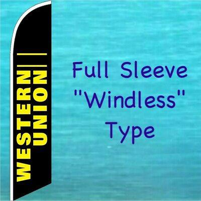 AUTO STEREO Checkered Windless Full Curve Top Advertising Banner Feather Swooper