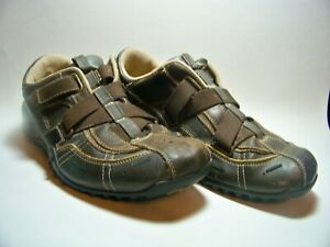 Details about SKECHERS Urban Track Palms Sneakers Shoes Size 9.5 Brown Leather