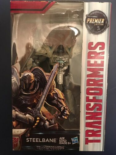 TRANSFORMERS 5 MOVIE THE LAST KNIGHT STEELBANE PREMIER EDITION ACTION FIGURE TOY