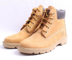 Timberland-6-034-Classic-Boots-GS-10960-Wheat-Single-Sole-Big-Kids-SZ-3-5-7