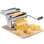 miniatuur 5 - Manual-Pasta-Machine-amp-Drying-Rack-Adjustable-For-Thickness-Roller-Attachment