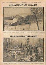 Eglise de Vauquois Poilus Tranchée Abri Souterrain Bataille de la Meuse WWI 1915