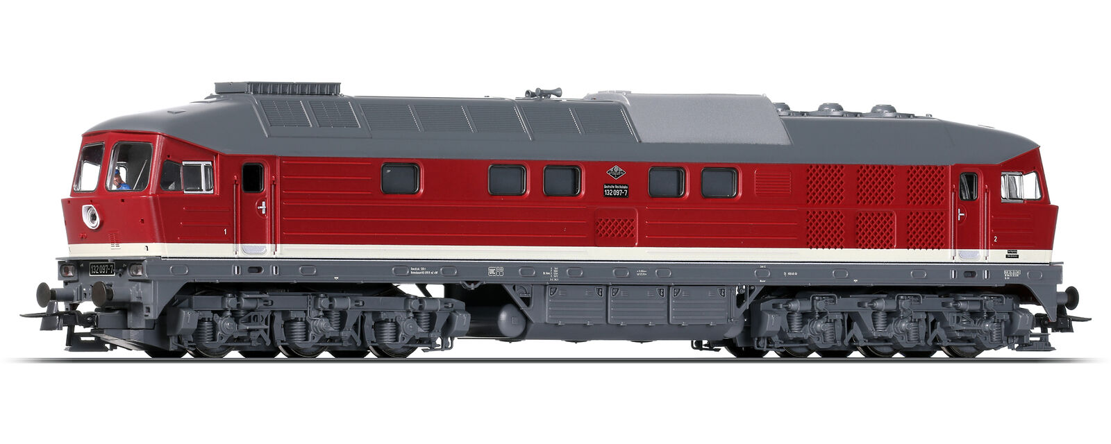Roco 51301-1 H0 Diesellok BR 132 der DR  Digital+Sound  ++ NEU ++