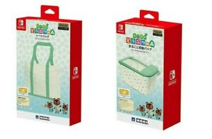 ANIMAL-CROSSING-Storage-amp-Tote-Bags-for-Nintendo-Switch-Hori-Official-2-Set