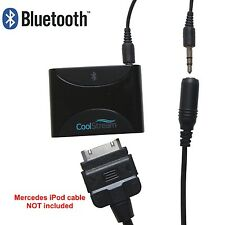 Bluetooth Adapter for Mercedes iPod Cable with 30 Pin and AUX Jack CoolStream