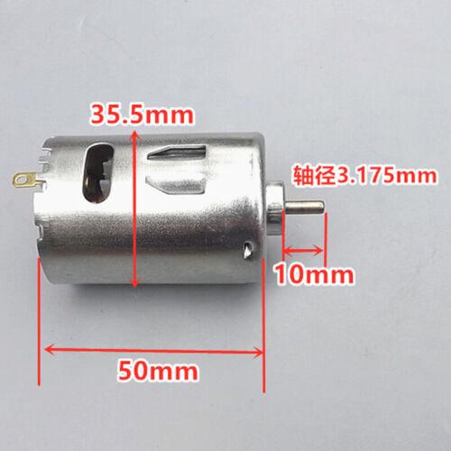 DC 5V-9V 6V 17000RPM High Speed Power RS-545 Motor Cooling Fan DIY Toy Car Model