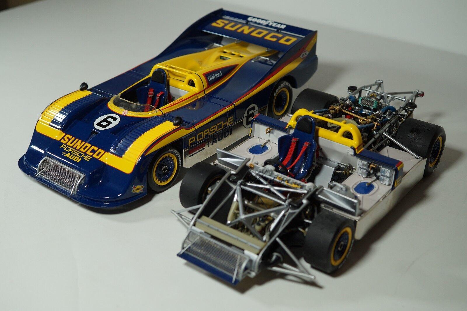 Exoto RLG RLG RLG 18181 First Heat set 1973 Porsche 917 30KL w Bonus Chassis - Donohue b07014