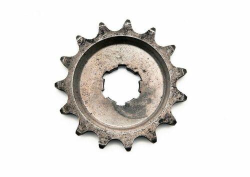 Ritzel kleines Kettenrad passend für MZ ES ETS TS125 TS150 IWL RT125-15 Zähne