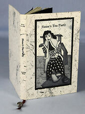 1998, Wing / Tuxford [ill.], Fiona's Tea Party, ltd ed [of 50], cat etchings!