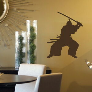 KUNG FU MARTIAL ARTS SAMURAI WALL DECAL STICKERs giant stencil vinyl mural RA141 - Tamworth, Staffordshire, United Kingdom - You Are welcome to return your wall stickers if you are unhappy for any reason please notify within 14 days, should the return be due to an error by us we will pay return postage otherwise the buyer will be respon - Tamworth, Staffordshire, United Kingdom
