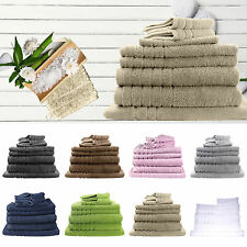 Egyptian Cotton 8 Piece Bath Set