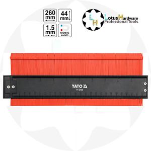 Magnetic Contour Profile Gauge Shape 260mm x44mm x1.5mm Yato YT-3736