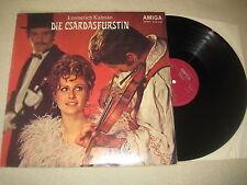 Emmerich Kalman - Die Csardasfürstin  Vinyl  LP Amiga   1971
