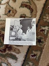M6-3 Ephemera 1970 Picture Leeds Infirmary X Ray Blood Pressure Machine