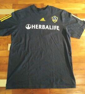 732efed41 Adidas Youth Large Black LA Galaxy Herbalife David Beckham 22 Shirt ...