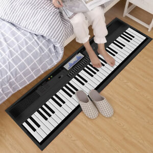 Custom-Area-Rugs-Carpets-Home-Room-Non-Slip-Decor-Floor-Door-Mat-Music-Keyboard