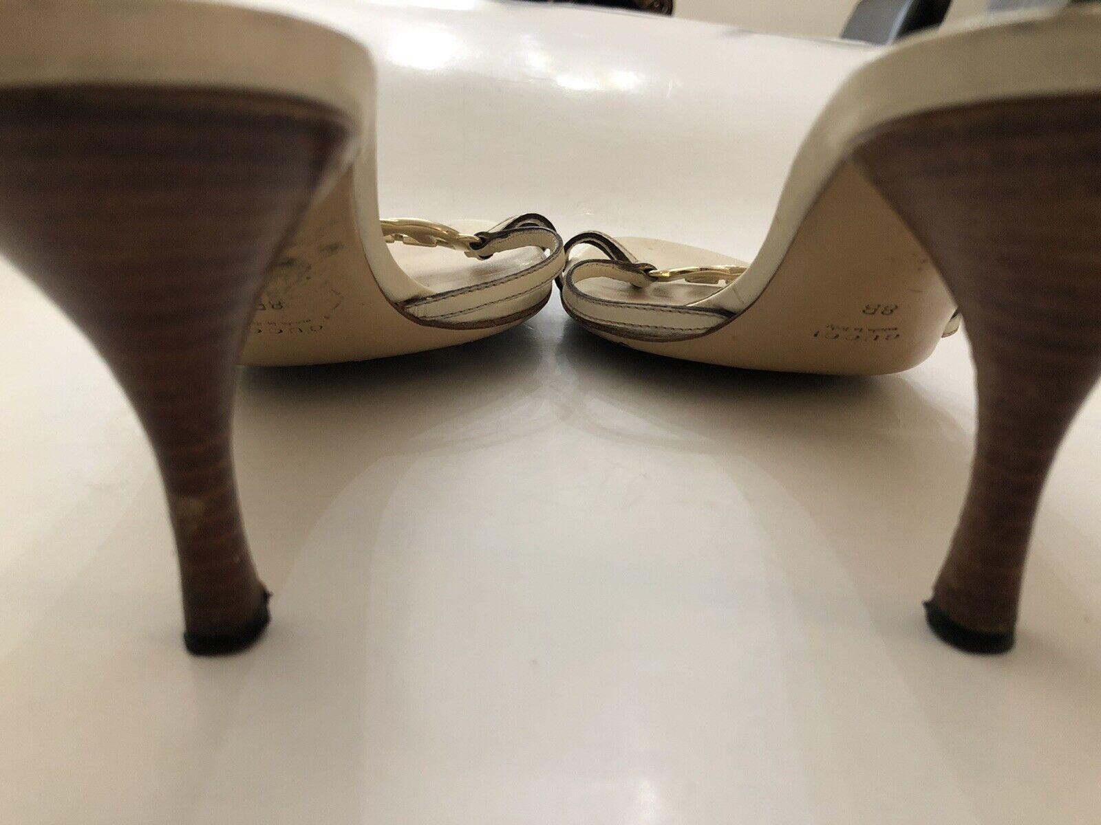 Gucci Off White Women Shoe 8B  - image 3