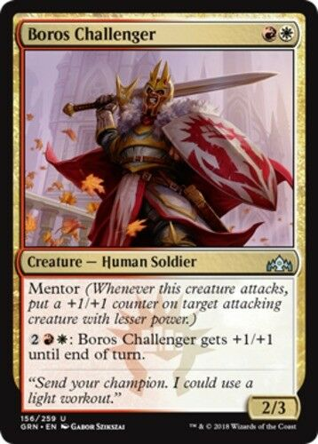 4x Boros Challenger MTG Guilds of Ravnica NM Magic Regular