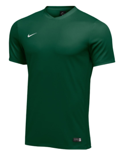 NWT Nike Men/'s Revolution IV Short Sleeve Football Jersey Green//Navy Size-Med
