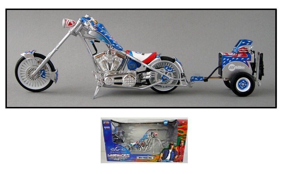 Modellino 1:10 Joy Ride American Chopper OCC Miller Welder Bike Diecast metallo