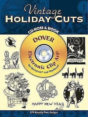 Vintage Holiday Cuts by Dover Publications Inc. (Mixed media product, 2007)