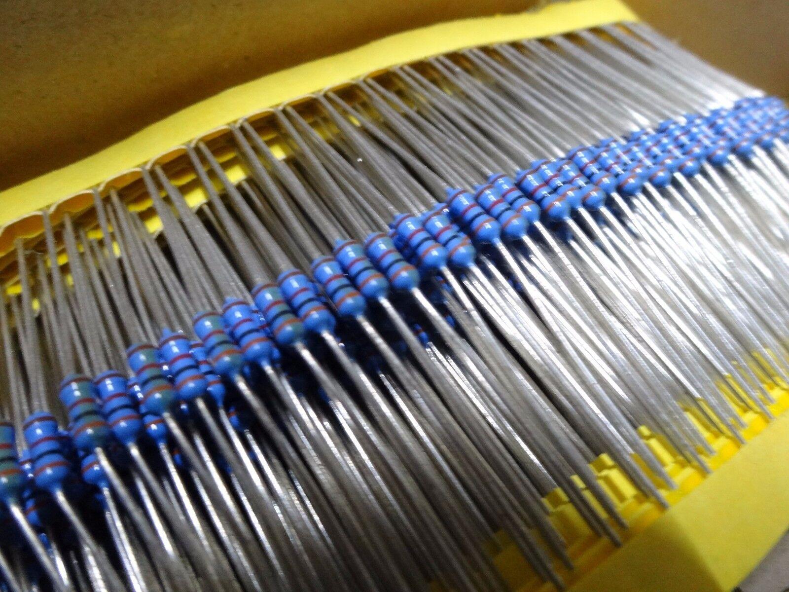 50 Pack 0.25W 1/% 1M MF25 1M Resistor pack of 50