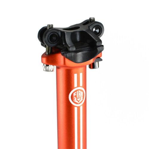 FireEye Alloy Seat post Seatpost 27.2 x 350mm Orange