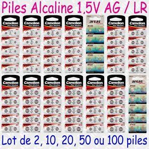 Piles-boutons-Alcaline-Camelion-1-5V-AG0-AG1-AG2-AG3-AG4-AG5-AG6-AG7-AG8-AG13