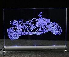 LEUCHTSCHILD LED mit Trike Rewaco HS 4 als Gravur hs4i