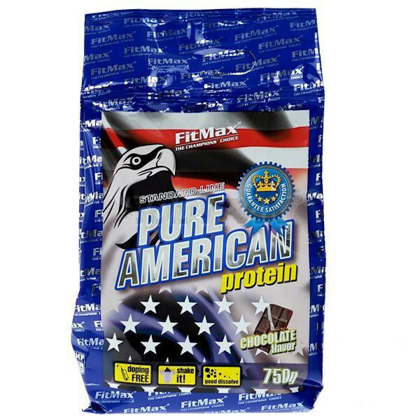 FitMax PURE AMERICAN Whey PROTEIN 750g WPI WPC Proteins Amino Acids TAURINE