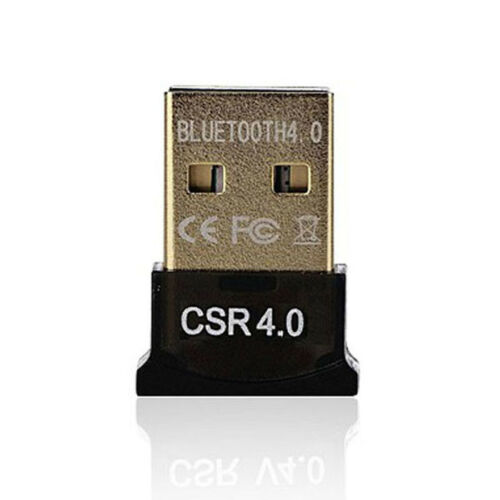 Mini USB Bluetooth V4.0 Dongle Dual Mode Wireless Adapter 3Mbps For Laptop PC