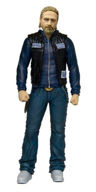 Jax Teller Charlie Hunnam Sons of Anarchy Samcro Redwood Mc Action Figur Mezco