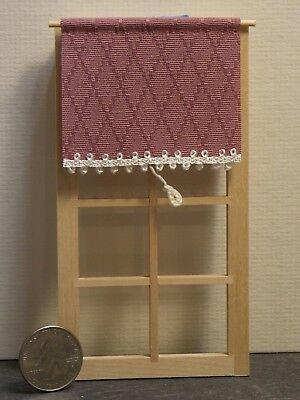 Dollhouse Miniature Window Shade Beige 1:12 one inch scale Y33 Dollys Gallery