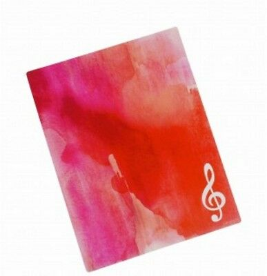 Brillante Music Mouse Pad G-clef Red Official Merchandise