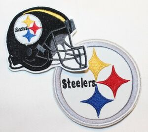 NFL-Pittsburgh-Steelers-Embroidered-Iron-on-Patch-FREE-SHIP