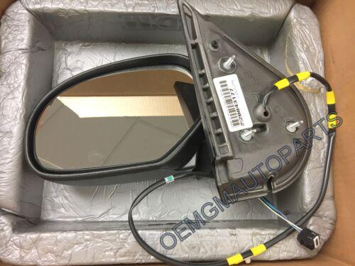 NEW GM OEM Door Side Rear View-Mirror Assy Left 20843177