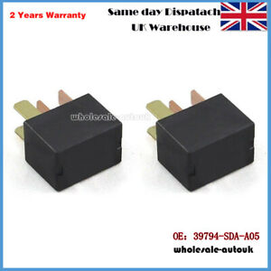 2PCS-FOR-HONDA-AIR-CON-RELAY-CIVIC-JAZZ-CR-V-FR-V-ACCORD-39794-SDA-A05-GENUINE